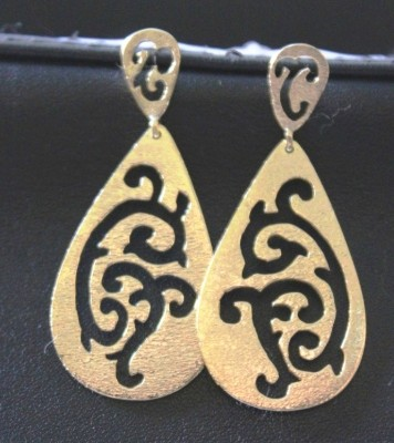 Earrings with openwork design (cod.OR.OT.07)