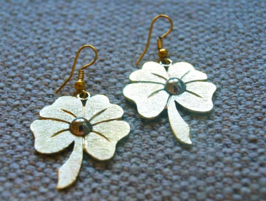 Cloverleaf earrings (cod.OR.OT.13)