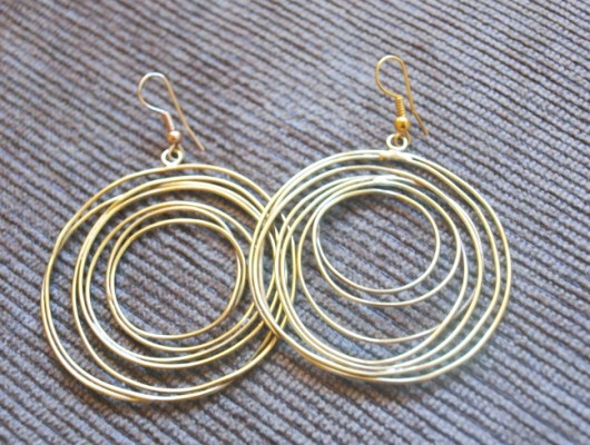 Earrings with fine circles (cod.OR.OT.44)