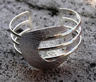 Bracelet en argent avec trois fils (cod.BR.AG.10)