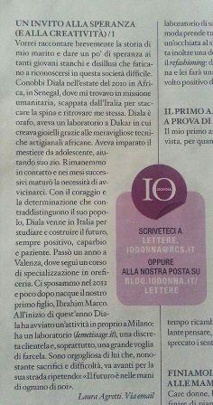 lettera IO DONNA_6ott2013