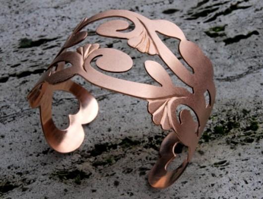 Bracciale in bronzo traforato (cod.BR.BZ.15)