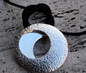 "Ciondolo in argento ""eclisse"" (cod.PN.AG.01)"