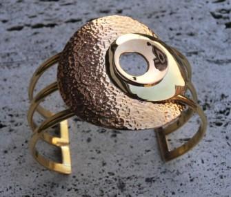 Bracelet en laiton avec cercles (cod.BR.OT.17)