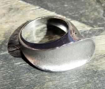 """Anello argento a """"scivolo"""" (cod.AN.AG.23)"""