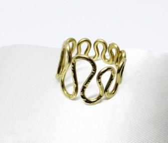"""Wave"" brass ring (cod.AN.OT.20)"
