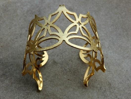 """Brass """"butterfly"""" bracelet (cod.BR.OT.14)"""