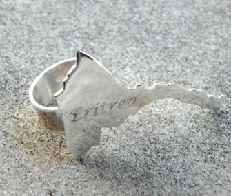 (Ita) Anello in argento Eritrea
