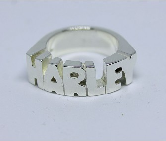 Anello HARLEY in argento (cod. AH.86)