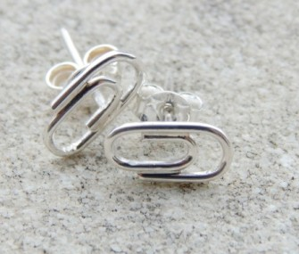 "Silver ""clip"" earrings (code OR.AG.69)"