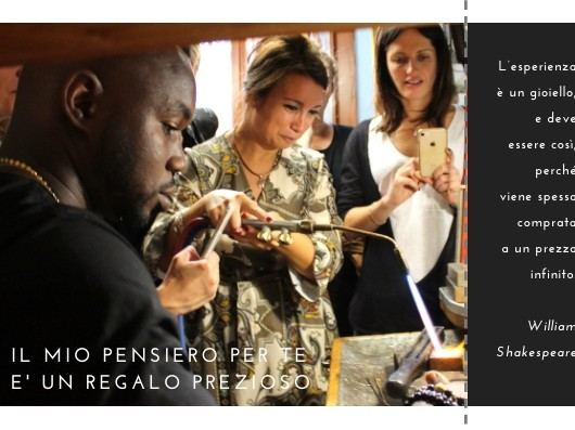 "gift voucher for experience ""Become a goldsmith for a day!"""