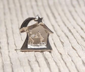 COD 40A – Piccolo presepe in argento