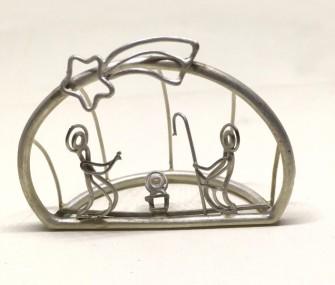 COD 78 – Presepe in argento a filo