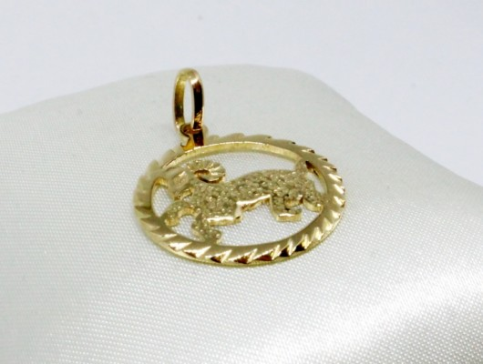 PENDANT IN GOLD WITH A SIGN OF THE ZODIAC (Cod. PN.AU.06)