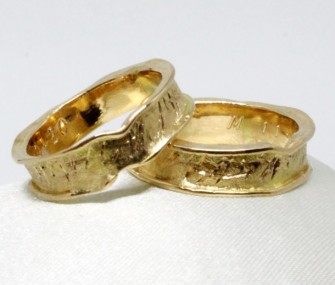 ANCIENT WEDDING RINGS (COD. FN.AU.32)
