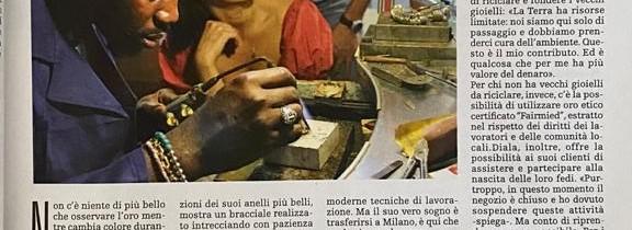"""Novembre 2020, La Repubblica """"lo spettacolo dell'anello"""""""